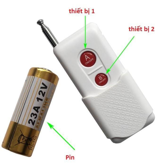Bộ công tắc điều khiển từ xa, điều khiển RF Honest K2 ( điều khiển 2 thiết bị)