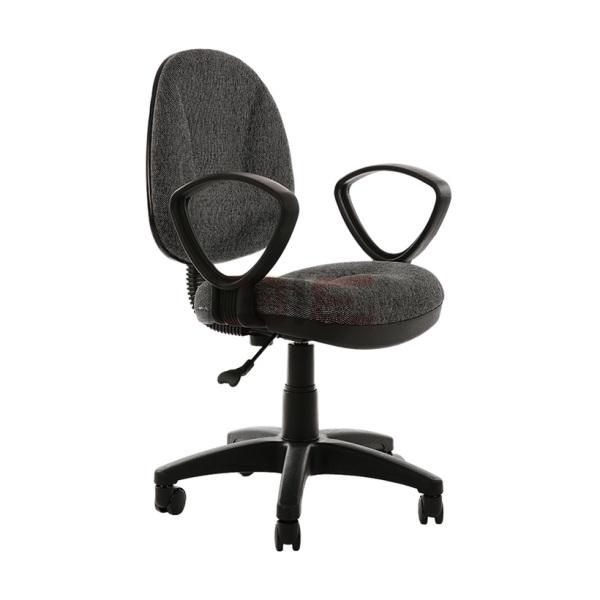 Ghế xoay văn phòng có tay IB505 vải nỉ giá rẻ