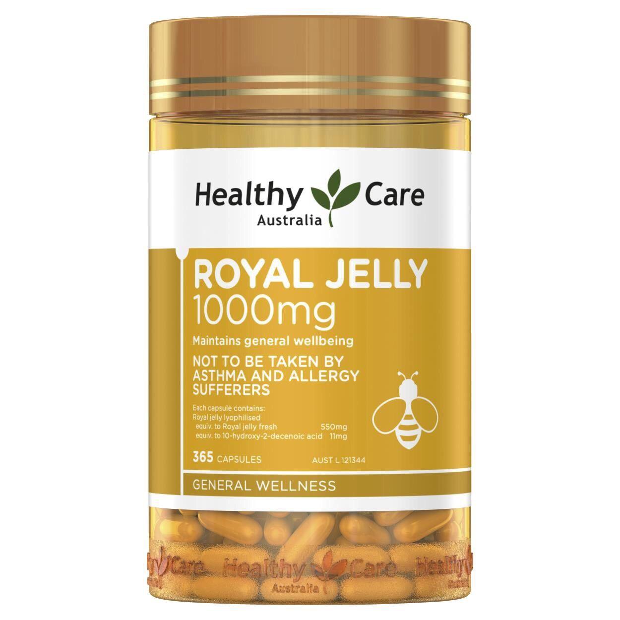 Viên uống sữa ong chúa Royal Jelly 1000mg 365 viên