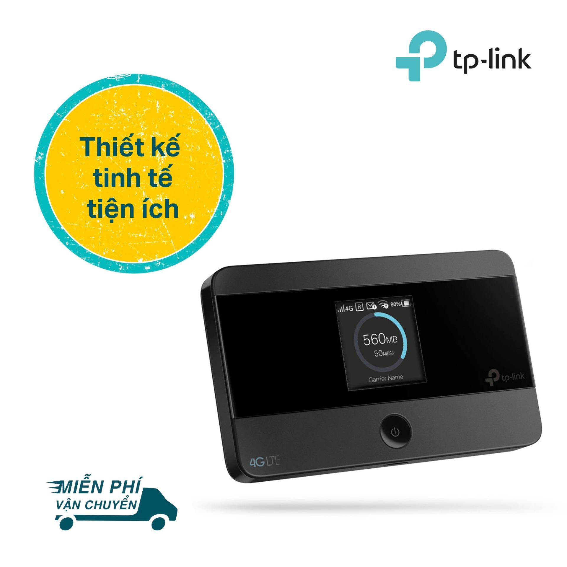 TP-Link bộ phát Wi-Fi di động 4G LTE cho kết nối Wifi siêu nhanh - M7350 - Hãng phân phối chính thức