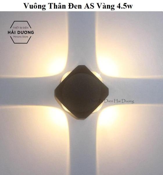 Bảng giá Đèn trang trí hắt tường 4 chiều thân nhôm chống ô xi hóa - 12w chống nước TN198 - Decor Lighting Không gian Nhà - Bảo hành 12 tháng