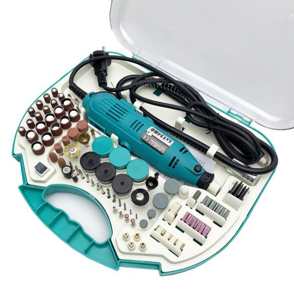 Bộ máy khoan mài cắt cầm tay mini LOUXOR Lx134MO - Đánh bóng , Cắt , khắc , gia công , chế tác, chơi kiểng bonsai