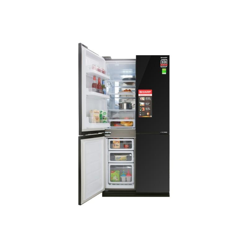 Tủ lạnh 4 cửa Sharp Inverter 626 lít SJ-FX688VG-BK
