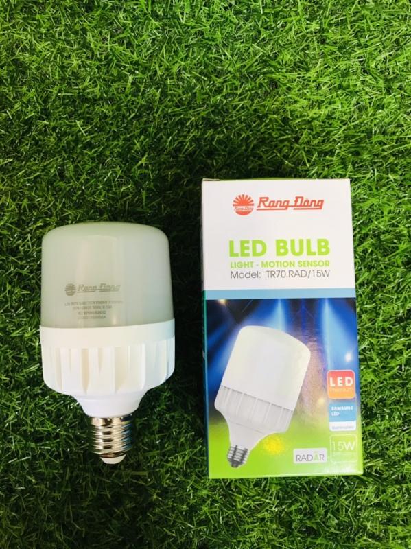 [ Cam kết hàng chính hãng ] - ĐÈN LED BULB CẢM BIẾN RẠNG ĐÔNG 15w siêu sáng
