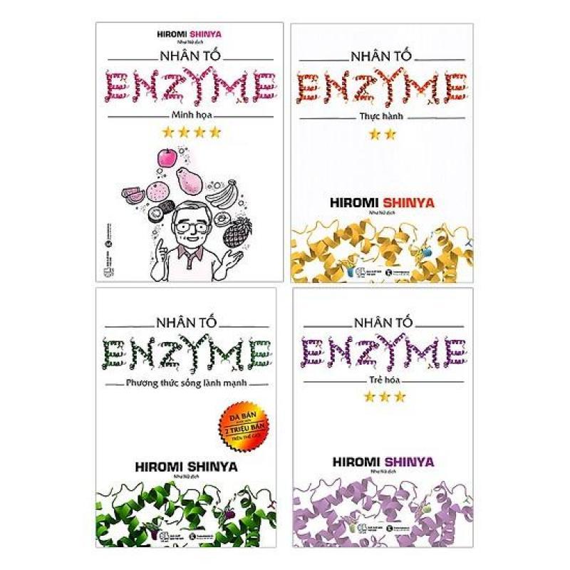Mua Trọn bộ Nhân Tố Enzyme (4 cuốn) - Hỉomi shinya