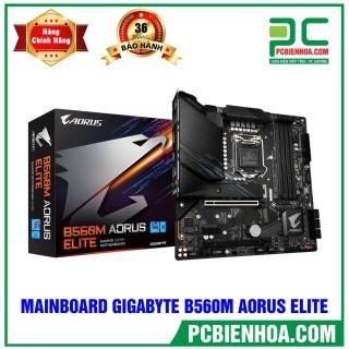 Mainboard GIGABYTE B560M AORUS ELITE ( LGA1200 M-ATX 4xDDR4 ) thumbnail