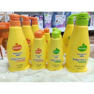 Sữa tắm gội 2in1 Wesser 2mùi chai 200ml 500ml, sản phẩm đa dạng về, chất lượng tốt, cam kết hàng nhận được giống với mô tả thumbnail