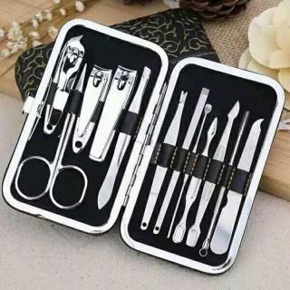 Bộ Kiềm cắt móng tay 12 món tiện dụng hộp nhỏ xinh thumbnail