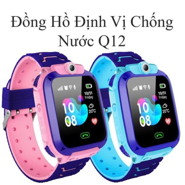 Đồng Hồ Thông Minh Định Vị Trẻ Em Q12 Có Tiếng Việt