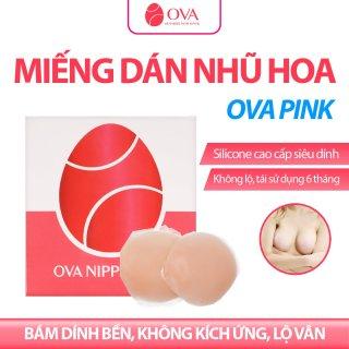Miếng dán ngực silicon OvaPink Nipple Pad cao cấp siêu dính, thật như da tự nhiên,che đầu ti, nhũ hoa, tái sử dụng 6 tháng thumbnail
