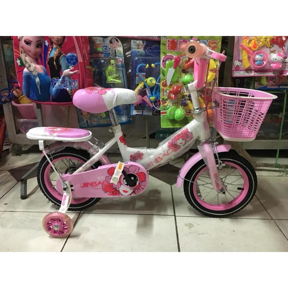 Mua xe đạp cực xinh Xe 14 inch ( bé từ 3-5 tuổi đi )