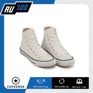 [AU100] Converse cổ cao vải trắng chính hãng 100% [ Converse chính hãng giá tốt] (Made in Vietnam) thumbnail