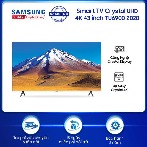 Bảng giá Smart TV Samsung Crystal UHD 4K 43 inch TU6900 2020