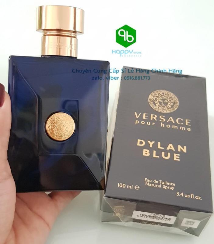 [Auth] Nước hoa nam - Versace Pour Homme Dylan Blue EDT 100ml, Ý