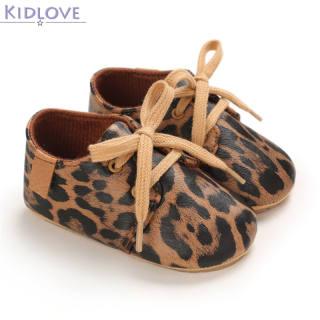 Kidlove 1 Đôi Giày Em Bé, Giày Trẻ Tập Đi Đế Cao Su Mềm Pu Cho Bé 3-12 Tháng Tuổi Nhé