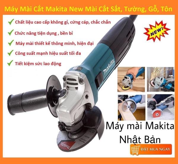 Máy mài cắt  makita nhật bản (2020) công tắc gạt đuôi bền vình viễn - 100% dây đồng - Máy mài cầm tay - Máy cắt cầm tay