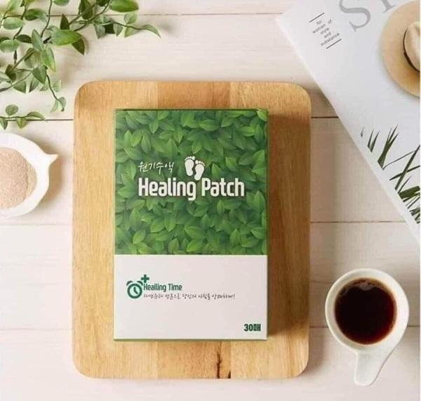 MIẾNG DÁN THẢI ĐỘC CHÂN HEALING PATCH HÀN QUỐC 30 MIẾNG giá rẻ
