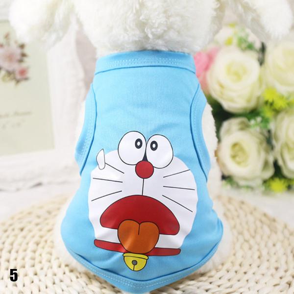 05 Phim hoạt hình Puppy Quần áo mùa thu Mùa đông ấm áp Chó mèo Áo len Pet Quần áo
