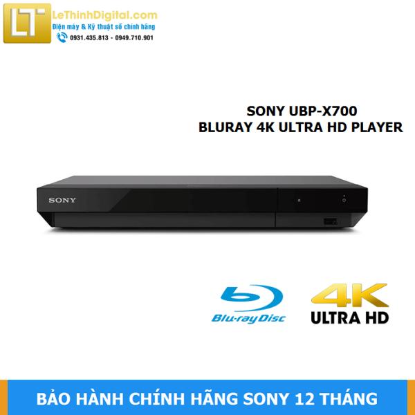 Bảng giá Đầu đĩa Blu-ray Sony 4K UBP-X700 - Hãng phân phối