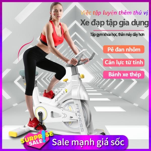 Bảng giá Xe đạp tập đa năng xe đạp tập gym tại nhà đa năng cản lực từ tính chống mài mòn bàn đạp nhôm bánh xe thép dụng cụ tập gym đa năng  camry