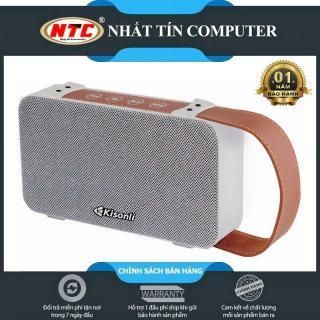 [HCM]Loa bluetooth Kisonli S7 có quai xách hỗ trợ thẻ nhớ USB FM AUX Thoại rãnh tay (Màu Random) - Hãng phân phối chính thức - Nhất Tín Computer thumbnail