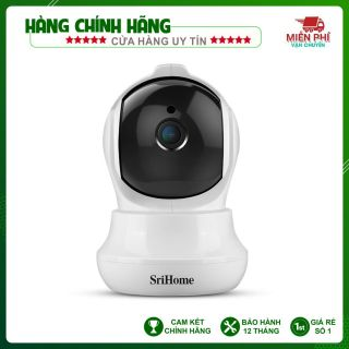 Camera Srihome SH020 - 3MP FHD - Kết nối wifi - Đàm thoại hai chiều - Phát hiện chuyển động thumbnail