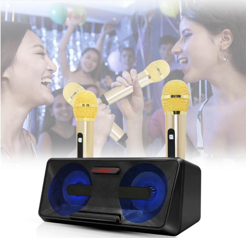 🔥 HOT 🔥 Loa Karaoke SDRD SD-301 kèm 2 mic không dây, thỏa sức ca hát - Bảo hành 6 tháng.