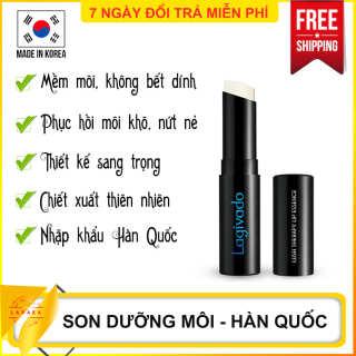 Son dưỡng không màu Hàn Quốc thương hiệu Lagivado giúp mềm môi, phục hồi môi khô nứt nẻ - Son dưỡng môi tốt, Son dưỡng bóng, son dưỡng ban đêm, Son dưỡng cho nam và nữ, Son dưỡng khô môi - LAVAHA thumbnail