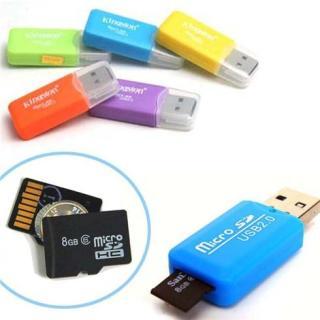 Đầu đọc thẻ nhớ tiện lợi cho thẻ nhớ Micro SDHC thumbnail