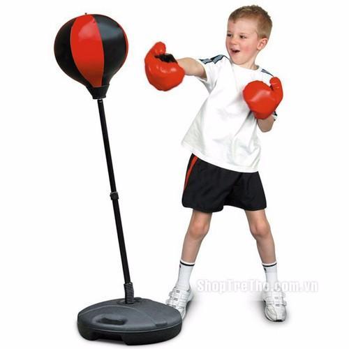 Bán [XẢ HÀNG- 2 NGÀY CUỐI] BỘ ĐỒ CHƠI BOXING CHO BÉ Set đồ chơi tập boxing cho bé kích thích vận động