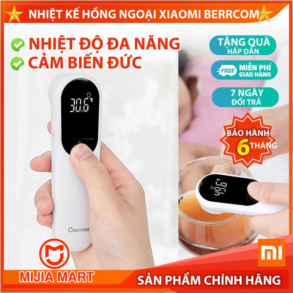 Nhiệt kế hồng ngoại Xiaomi Berrcom JXB-305. Nhiệt kế đo nhiệt độ người, đo nước, sữa, nhiệt độ phòng.