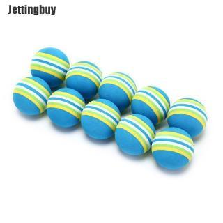 Jettingbuy 10 Cái Cầu Vồng Sọc Bọt Xốp Bóng Golf Swing Thực Hành Hỗ Trợ Đào Tạo thumbnail