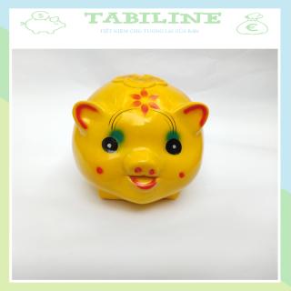 Lợn đất tiết kiệm đựng tiền size NHỠ đẹp giá rẻ TABILNE LD02 thumbnail