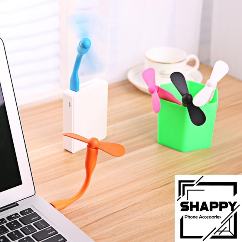 Bảng giá Quạt Mini Cổng USB 2 Cánh Tháo Rời - Giao Màu Ngẫu Nhiên [Shappy Shop] Phong Vũ