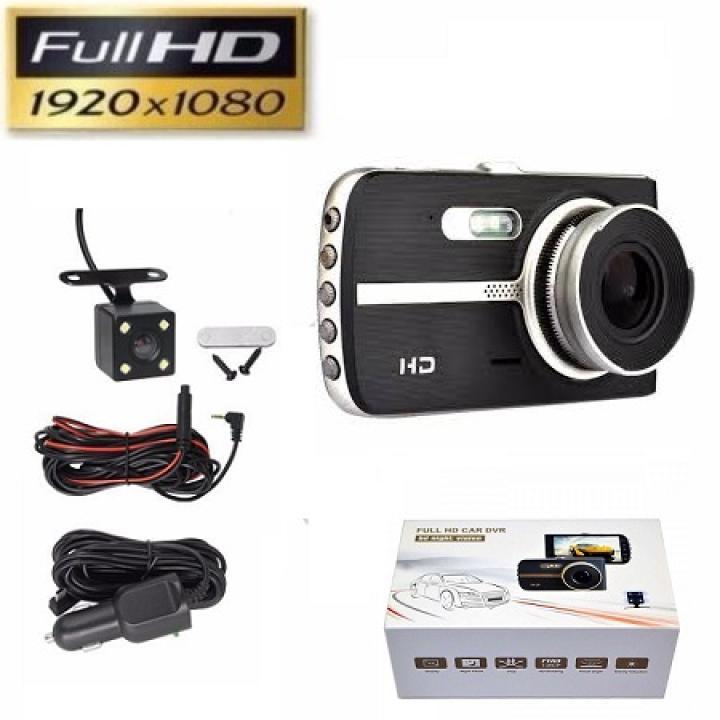 [ TẶNG KÈM THẺ NHỚ 32GB] Camera hành trình xe hơi (xe ô tô) X003 trước và sau Full HD 1080P - ( Màn hình 4 inch – Ghi hình Trước và sau), CAMERA HÀNH TRÌNH SIÊU NÉT 4K, dung lượng tối đa 64G,độ phân giải 1080P,Bảo hành uy tín 1 đổi 1