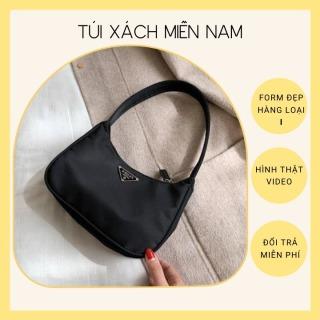 Túi xách nữ, túi kẹp nách da mềm trơn HTK08 thumbnail