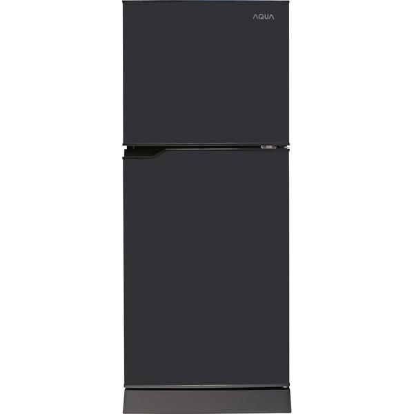 Tủ lạnh Aqua 130 lít AQR-T150FA(BS) - Công nghệ làm lạnh Trực tiếp (Không đông tuyết), Công nghệ kháng khuẩn, khử mùi Nano Fresh Ag+