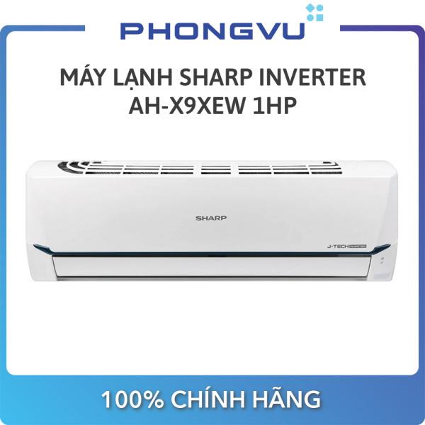 Bảng giá [Trả góp 0%] Máy lạnh Sharp Inverter 1 HP AH-X9XEW - Bảo hành 24 tháng - Miễn phí giao hàng Hà Nội & Hồ Chí Minh