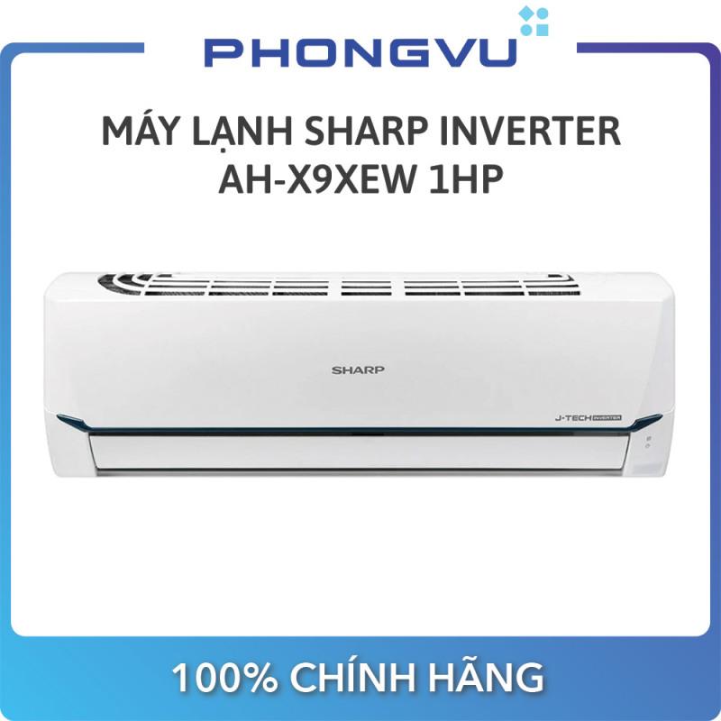 [Trả góp 0%] Máy lạnh Sharp Inverter 1 HP AH-X9XEW - Bảo hành 24 tháng - Miễn phí giao hàng Hà Nội & Hồ Chí Minh