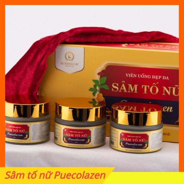 Sâm tố nữ Puecolazen Kohinoor STN, cân bằng nội tiết tố, sinh lý khỏe mạnh, đẹp dáng đẹp da