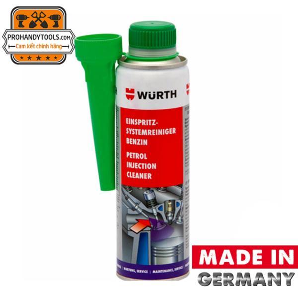Chai Súc Béc Xăng Wurth Petrol Injection System Cleaner 300ml