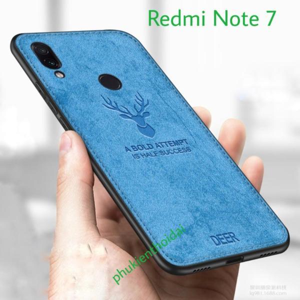 Xiaomi redmi note-7 Ốp lưng vải đầu hươu cho cao cấp  ( Xiaomi Redmi Note  7 )