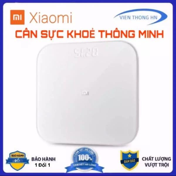 Cân điện tử thông minh Xiaomi scale 2 - cân sức khỏe màn hình led gen 2 bluetooth kết nối với điện thoại - Vien Thong HN
