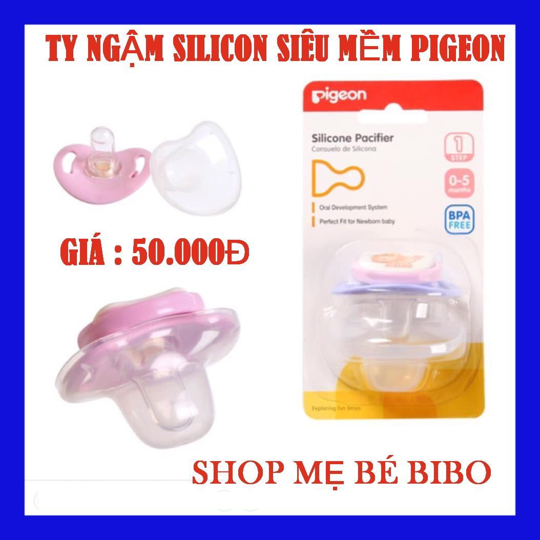 Ty Ngậm Pigeon Silicone Siêu Mềm Đầy Đủ Các Bước Cho Bé
