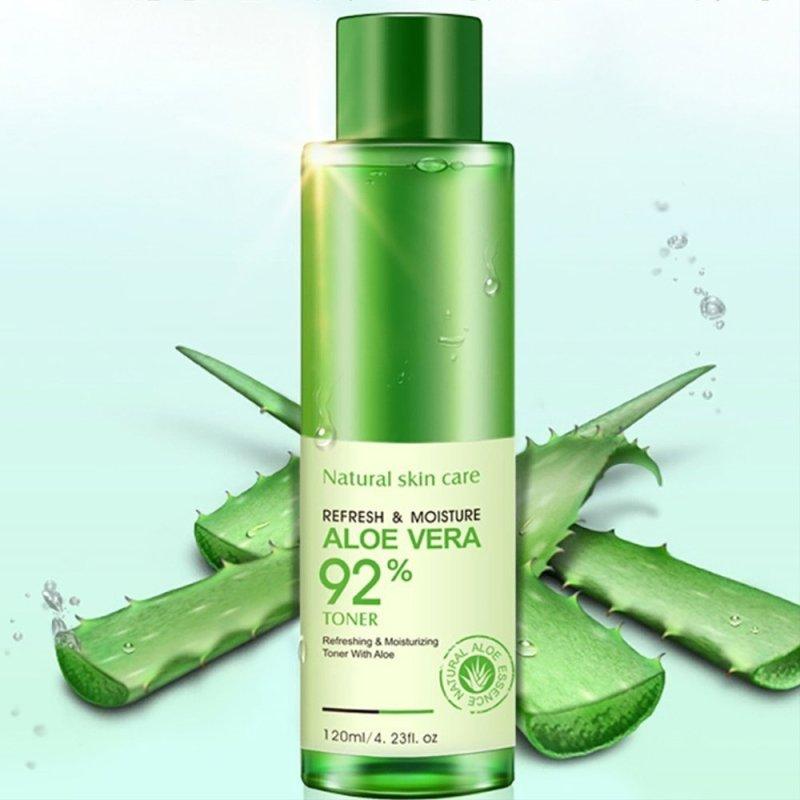 Sữa Dưỡng Ẩm Rorec Refresh And Moisture Aloe Vera 92% Emulsion Của Bioaqua 120ml giá rẻ