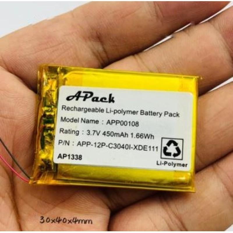 Pin sạc Lipo 3.7V 450mAh 1.66Wh