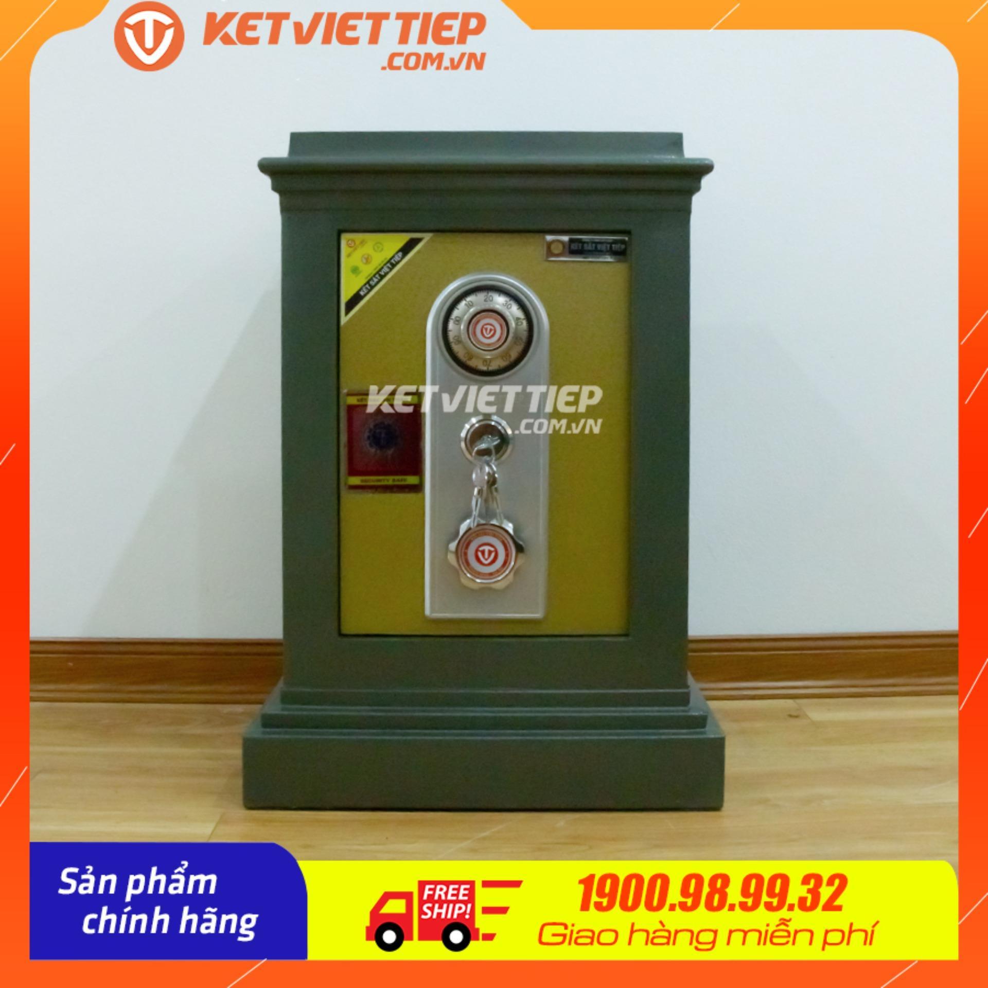 Việt Tiệp đúc đặc KVT65KC- Công ty Két sắt Việt Tiệp