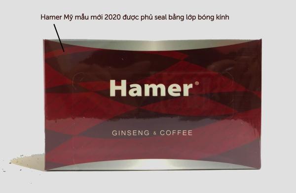 Kẹo sâm Hamer 32 viên Nhập khẩu Mỹ  mẫu mới 2020 cao cấp