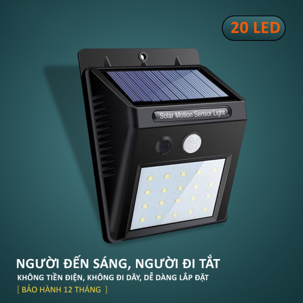 Đèn LED gắn tường, bóng đèn LED năng lượng mặt trời, tiết kiệm điện, LED siêu sáng trong nhà, ngoài trời, ánh sáng trắng 20-30 bóng, dễ dàng lắp đặt, chống mưa HL143