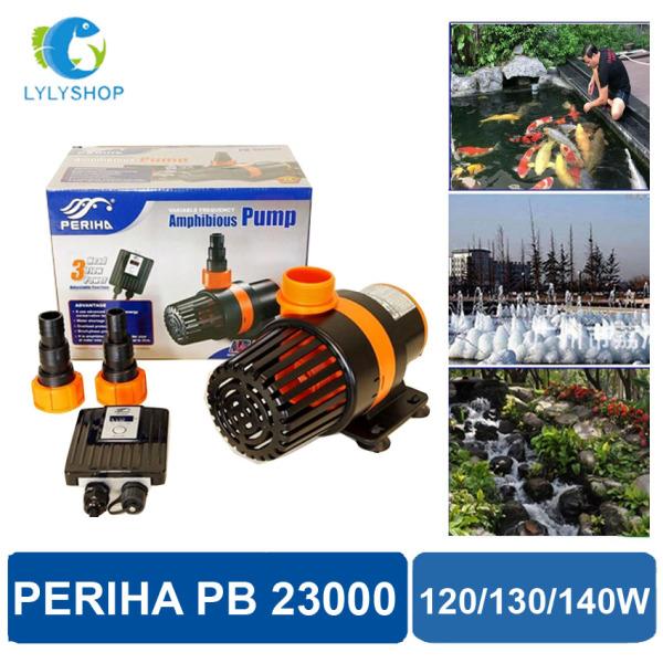 23-24-25m3/Hr - Máy bơm nước hồ cá PERIHA PG 23000: 3 công suất, 3 điều chỉnh dòng chảy, dễ lắp đặt, dùng hệ thống lọc nước hồ cá, hòn non bộ.